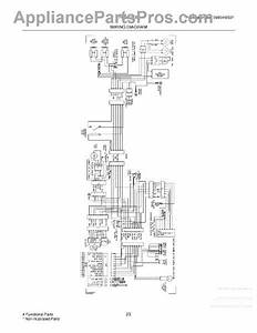 Parts For Frigidaire Frs6l7ees9  Wiring Diagram Parts