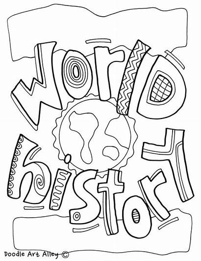 History Coloring Pages Subject Geography Studies Social