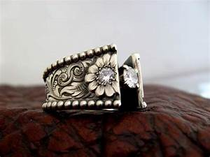 Westernweddingring custom made western wedding rings for Custom made wedding rings