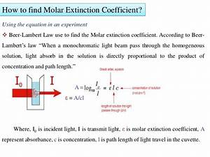 Molar extinction coefficient