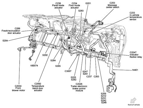 2003 Ford F150 Wiring Harnes by 2003 Ford F 150 Vacuum Line Diagrams Wiring Diagram