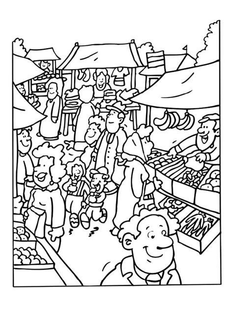 jobs coloring page  coloring kids