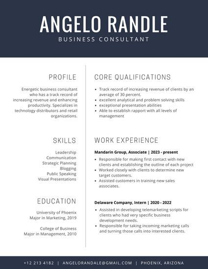 Corporate Cv Template by Customize 192 Corporate Resume Templates Canva