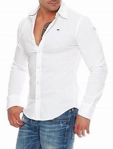 0fdc73ed5764 tommy hilfiger denim sabim slim fit hemd langarm shirt schwarz wei navy ebay