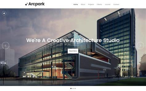 arcpark architecture html responsive website template