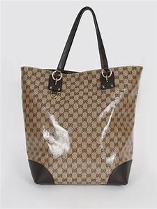 Gucci - GG Crystal Shopping Bag   Luxury Bags