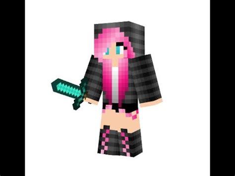 minecraft skin editor   cute heart girl youtube