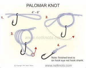 Palomar Knot - How to tie a Palomar Knot Fishing Knots