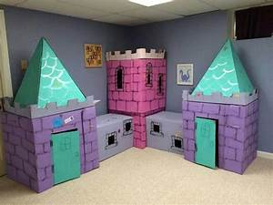 Cardboard box castle | Kid Stuff | Pinterest | Boxes ...