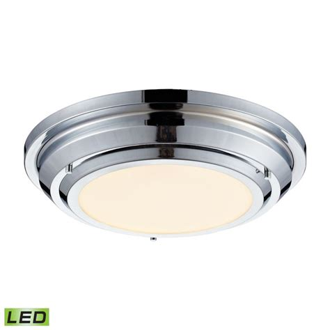 elk lighting 57010 led polished chrome sonoma 1 light led