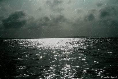 Sea Rain Ship Dark Relaxing Osho Palabra