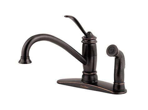 pfister brookwood 1 handle kitchen faucet tuscan bronze