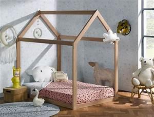 Lit Cabane Bebe : lit cabane enfant volutif capsule h tre extension matelas ~ Teatrodelosmanantiales.com Idées de Décoration