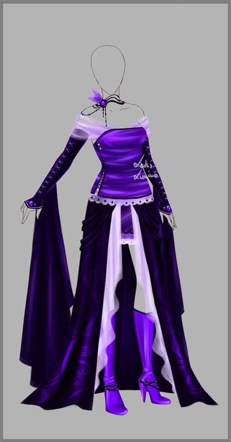 Outfit design - 76 - closed by LotusLumino on DeviantArt