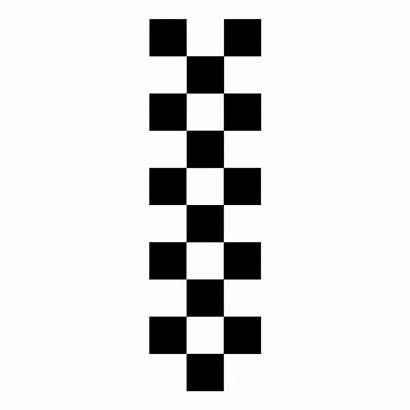 Racing Stripes Typ2 Autoaufkleber Flags Cool Drucken