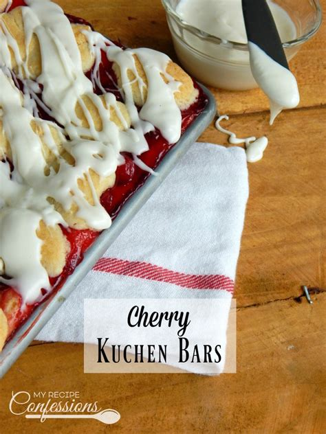 cherry kuchen bars cherry kuchen bars my recipe confessions