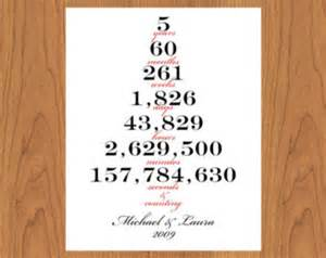 5 year wedding anniversary 5 five year personalized wedding anniversary timeline anniversary keepsake living room bedroom