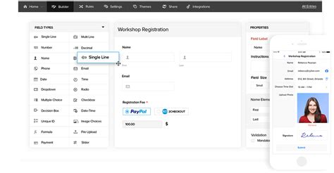 form builder software build online forms for free zoho