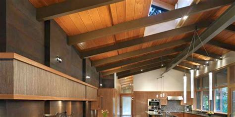 exposed beam ceiling designs  rustic  modern interior