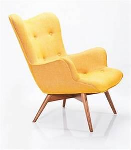 Fauteuil Jaune Alinea : fauteuil scandinave alinea sofag ~ Teatrodelosmanantiales.com Idées de Décoration