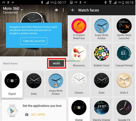 android wear tutorial how to customize android wear faces howto