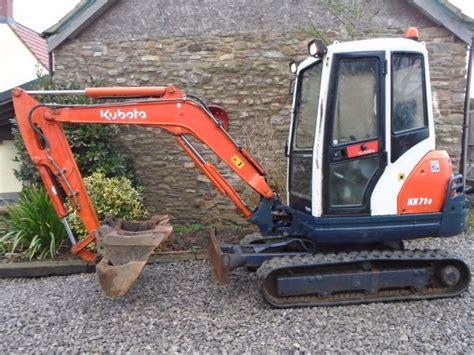 kubota kx  mini digger  ton excavator  vat vgc finance px suit dumper  sale