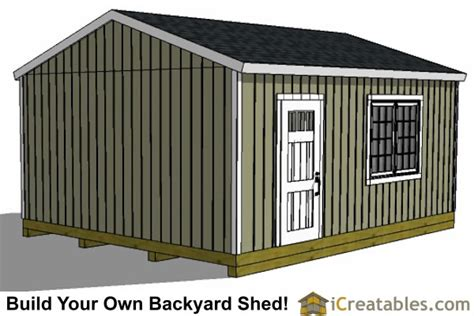 simple wood shed plans skid steer the shed build