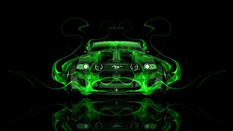 ford mustang gt tuning muscle front fire car  el tony