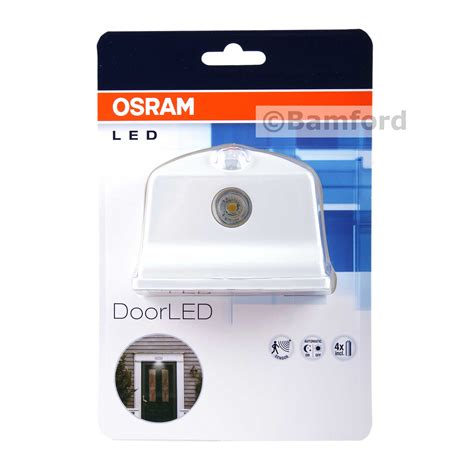 Led Len Osram by Osram Door Led In White Integrated Light And Motion Sensor