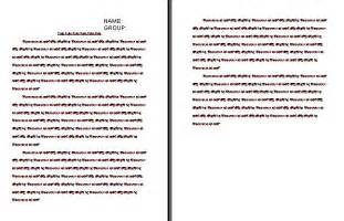 10 best images of paragraph format notes sle