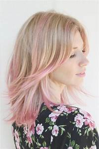 Pastel blonde and pink hair color Latest Hair Styles Cute & Modern Hairstyles For Men