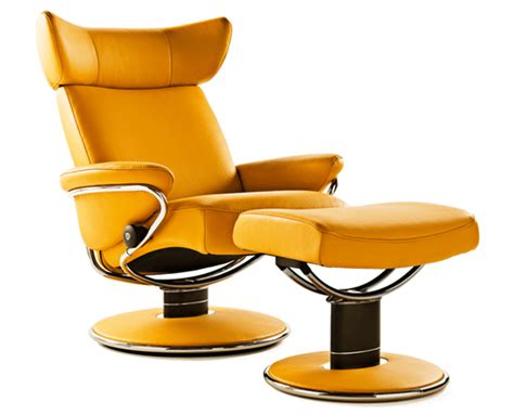 Ekornes Jazz Stressless Recliner by Ekornes Stressless Jazz Recliner With Ottoman Medium