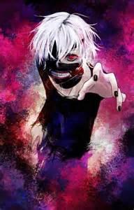 Tokyo Ghoul Kaneki White Hair Mask