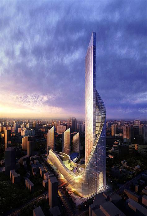 Nanjing Suning Tower Nanjing China Aedas High Rise