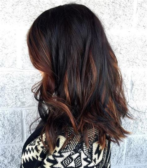 hair colors  winter  hottest hair color