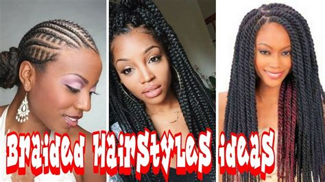 2018 Braided Hairstyles Ideas For African American Women