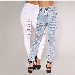 Ripped jeans womens