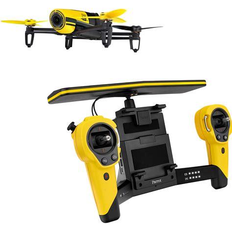 parrot bebop drone quadcopter  skycontroller bundle pf