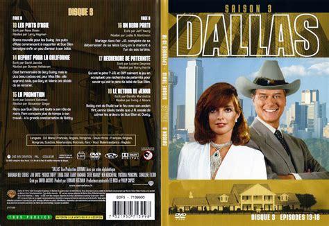 Dallas Resume Saison 3 by Jaquette Dvd De Dallas Saison 3 Dvd 3 Cin 233 Ma