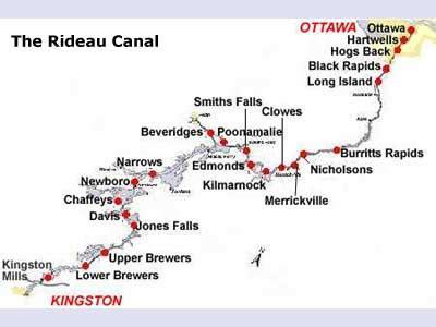 canadas rideau canal hits  anniversary