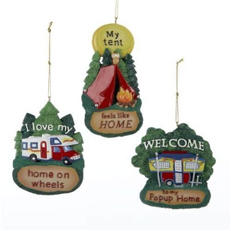 mobile home christmas ornament images  pinterest