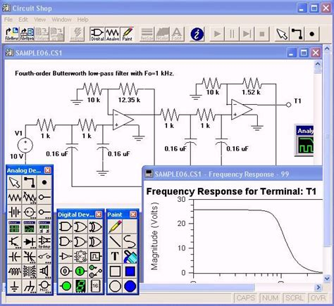 electronic design software electronic circuit simulation the free