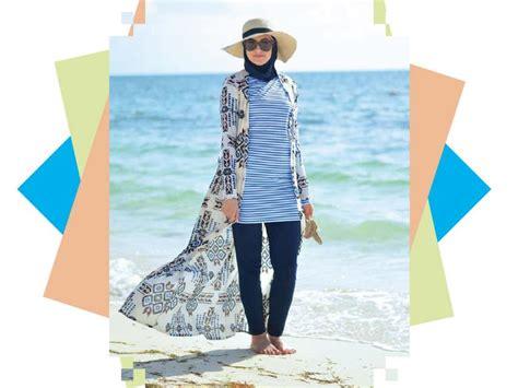 Cara Tampil Stylish di Pantai untuk Cewek Berhijab