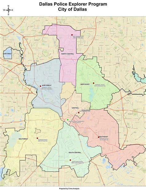 map  dallas area dallas area map texas usa