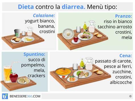 gastroenterite alimentazione corretta dieta contro la diarrea cosa mangiare quali alimenti