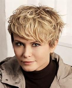 Coupe Courte Femme Cheveux Gris : ne vous trompez dans le choix de votre coupe courte ~ Melissatoandfro.com Idées de Décoration
