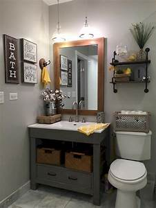 Easy, Bathroom, Makeover, Inspirations, With, Cheap, Decoration