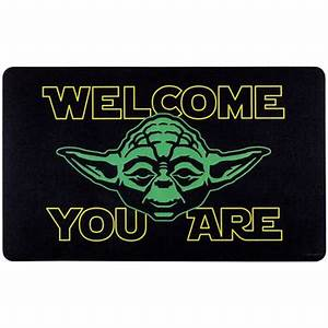Welcome You Are Yoda Rubber Mat Hobby Lobby 1149962