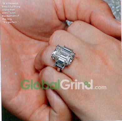 hollywood trendy kim kardashian wedding ring 2011
