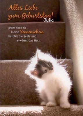 postkarten zum geburtstag fuer julia